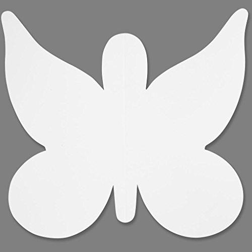 Schmetterling, Größe 20x24 cm, 16 Stck.