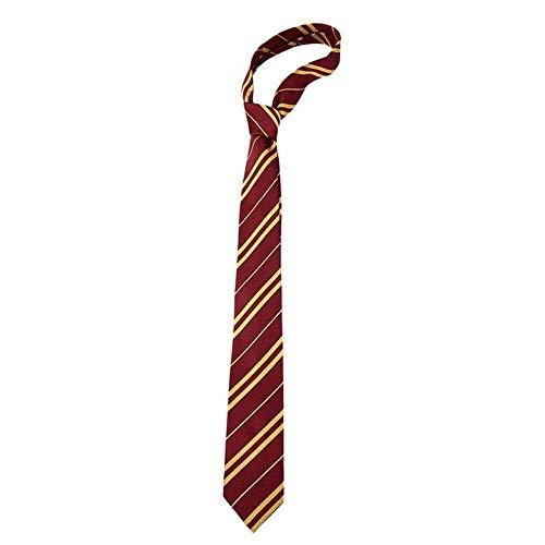 Hamkaw Corbata de Harry Potter, Lazo de la Raya del Vestido de Lujo, Cosplay Disfraces de Fiesta