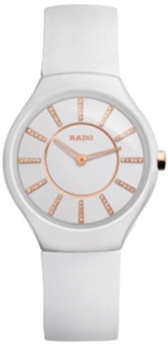 Rado Damen-Armbanduhr Analog Quarz Kautschuk 420.0958.3.170