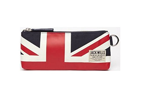 Jack Wills Pencil Case Union Jack for sale  Delivered anywhere in UK