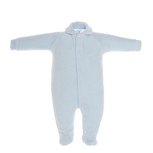 Cambrass - azul de 100% algodón, talla: 62cm (3-6 meses)