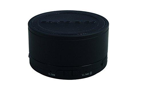 S2G BIGBASS XL Bluetooth Lautsprecher, IPX7 Wasserdicht, Spritzwasserschutz, kraftvoller Bass, USB, Micro SD, Freisprecheinrichtung - Schwarz