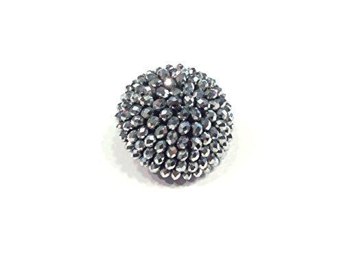 Zoom IMG-2 de liguoro bottone gioiello ricamato