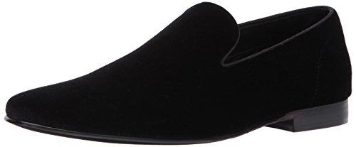 Steve Madden Men's Laight Slip-on Loafer, Black Velvet, 8.5 M US