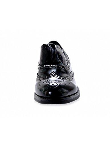 ville Creazioni pour Chaussures Studio de lacets Noir à femme 7tAqxF
