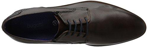 Bugatti - 311147011100, Zapatos De Hombre Marrón (marrón Oscuro 6100)