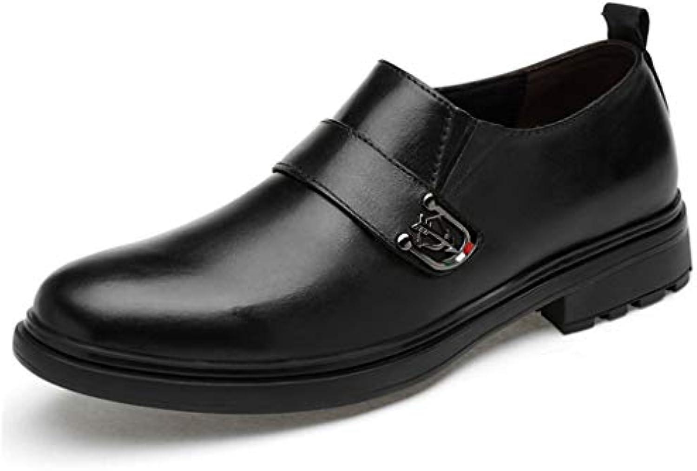 ChengxiO Scarpe Casual Scarpe da Uomo in Pelle da da da Uomo da Lavoro Inghilterra 2019 Scarpe da Uomo Nuove Scarpe... | Vari I Tipi E Gli Stili  262010