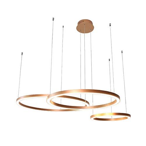 circulaire lampes araignée lumière Ambiance Nouveau Design créatif réglable 220 - 240 V Blanc chaud/Blanc Source de lumière incluse blanc