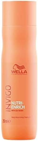 Wella Professionals Invigo Nutri Enrich Deep Nourishing Shampoo (For Dry and Damaged Hair), 250 ml
