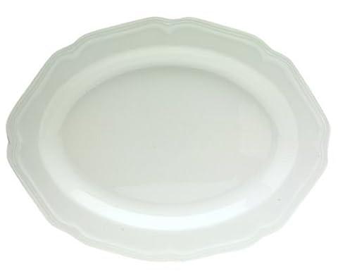 Mikasa Antique White Oval Platter, 14-Inch