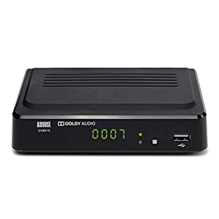 August Freeview Box Recorder 1080p HD DVB415 - HDMI and Scart Set Top Box with PVR for Recording Your Favourite Shows