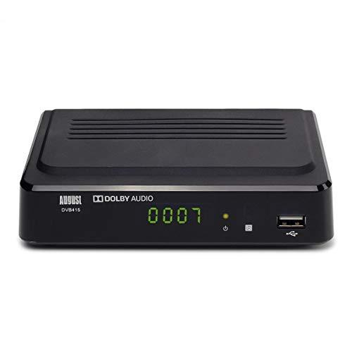 317JRwLg45L. SS500  - August DVB415 - Box Recorder 1080p HD - HDMI and Scart Set Top Box with PVR for Recording Your Favourite Shows
