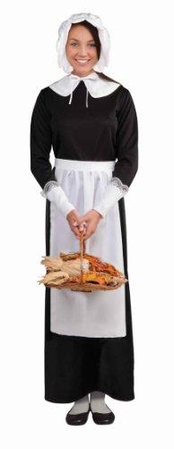 Thanksgiving Pilgrim Woman Costume Accessory Set Adult One (Pilgrim Womens Kostüme)