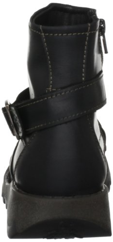 Fly London Sake, Damen Stiefel Black