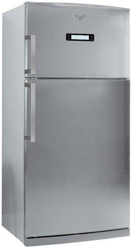 Whirlpool WTH5244 NFX freestanding 515L A+ Stainless steel fridge-freezer - Fridge-Freezers (515 L, T, 44 dB, 6 kg/24h, A+, Stainless steel)