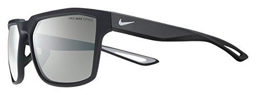 Nike Herren Bandit Ev0917 Sonnenbrille, Silber (Mt Blk/WLF Gry SLV), 59