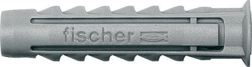 Fischer Nylon-Dübel SX12 - 25 Stück (Fliese Grau 12x12)