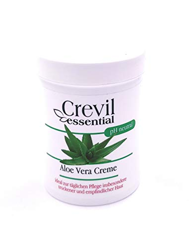 3 x Crevil essential Aloe Vera Creme, ph neutral, (3 x 150ml)