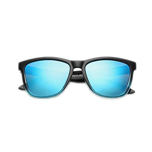 WERERT Sportbrille Sonnenbrillen Fashion Polarized Women Sunglasses Ladies Designer Gradient Coating Mirror Sun Glasses UV400
