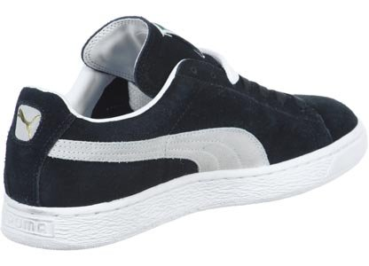 Puma Suede Classic Sneakers Herrenschuhe Schwarz (black-white 03)