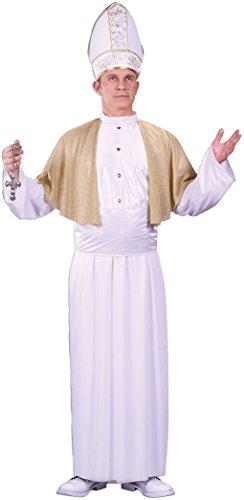 (Papst Hut Kostümen)