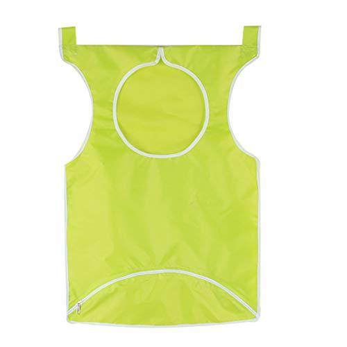 Rocita - Cesta para la Ropa Sucia para Colgar en la Puerta, Impermeable, Bolsa de Ropa portátil, la Mejor opción para Sujetar Ropa Sucia y Ahorrar Espacio, Color Verde