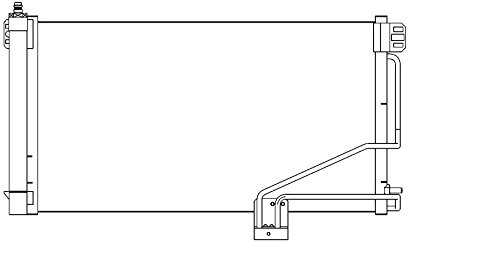 BEHR HELLA SERVICE 8FC 351 301-354  Kondensator, Klimaanlage