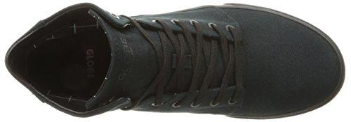 Globe Los Angered TX Hommes Toile Chaussure de Basket Black-Black