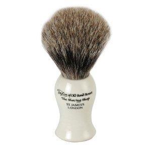 Taylor Of Old Bond Street Best Badger Ivory Shaving Brush - Medium -
