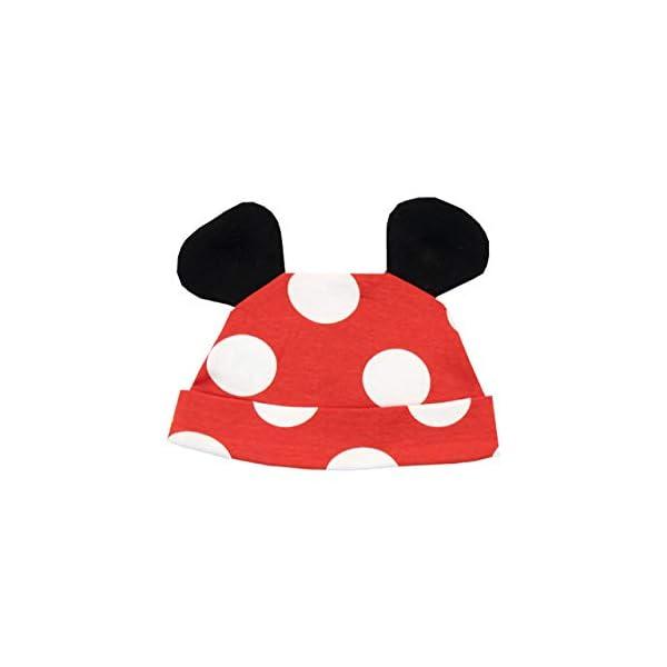 Disney Pijama Conjunto de Pijama Entera y Gorro para Niñas Bebés Minnie Mouse 3