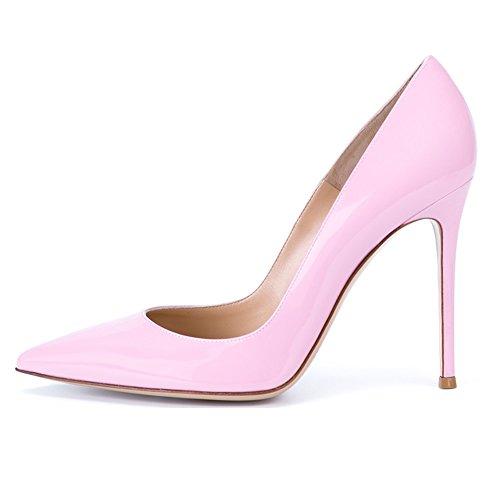 EDEFS - Scarpe da donna - High Heels Sexy - Scarpe col tacco - Tacchi a Spillo - Pink - Taglia EU41