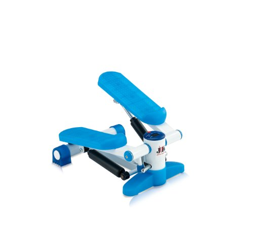JK Fitness 5010 Mini Stepper, Blu/Bianco