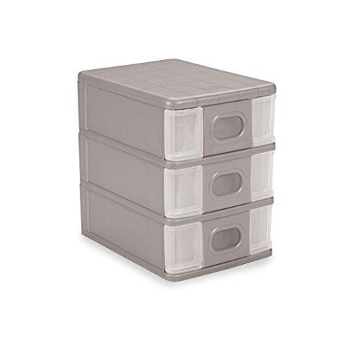 Cello Alpha 3 Polypropylene Box - Grey