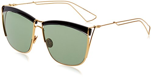 Dior CHRISTIAN 0 BK YELLGOLD FRAME WITH GREEN LENS