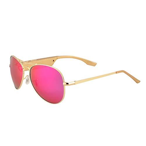 GXY Bluetooth Kopfhörer Angeln Gläser Beobachten Klare Hintergrundbeleuchtung Sonnenbrillen Gläser (Farbe : Red)