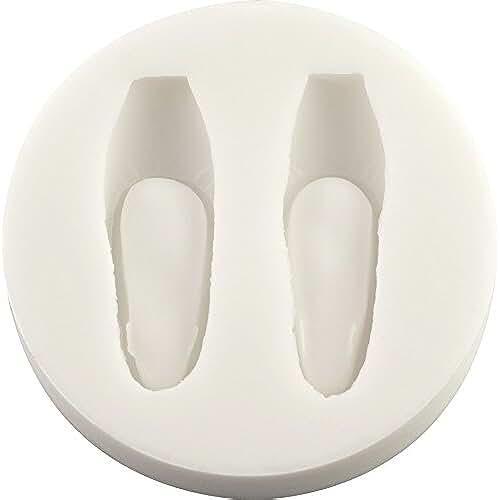 figuras kawaii porcelana fria Zapatos de Ballet molde de silicona | Ballet Por FPC molde de fondant, resina, cera molde, molde de Fimo, Craft molde