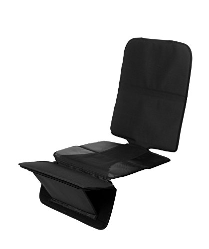 Osann Autositz Schutzunterlage FeetUp & Fußablage schwarz | Autositzauflage zum Schutz vor Kindersitzen | Isofix geeignet & wasserabweisend | Universeller Autositzschoner