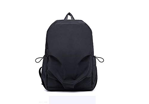 CYYAW Backpack, Men's Backpack Casual Fashion Solid Color Backpack Travel Outdoor Backpack Fitness Sports Oxford Backpack (black)