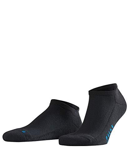 FALKE Cool Kick Sneakersocken black (3000) 46-48 mit ultraleichter Plüschsohle