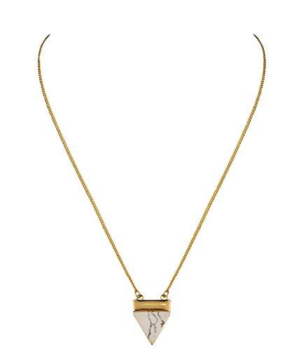 six-trend-goldene-kurze-damen-halskette-mit-marmoriertem-marmor-dreieck-schwarz-weiss-458-485
