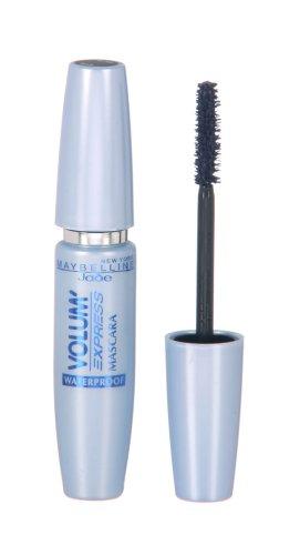 Maybelline New York Mascara Volum' Express Marine 93/Wasserfeste Wimperntusche in Dunkelblau mit 3 x mehr Volumen, dermatologisch getestet, 1 x 8,5 ml (Dunkel Blaue Mascara)