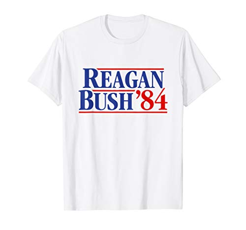 Reagan Bush '84 T-Shirt -