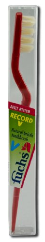fuchs-brushes-record-v-natural-bristle-toothbrush-adult-medium