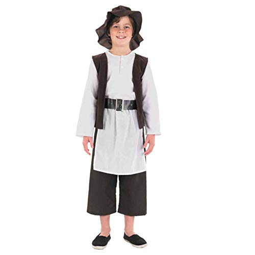 Tudor Kostüm Childs - Fun Shack FNK3461XL Kostüm, Boys, Tudor Boy Deluxe, xl