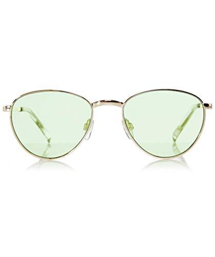 Le Specs Damen Heißes Gläschen Gold Ein Größe