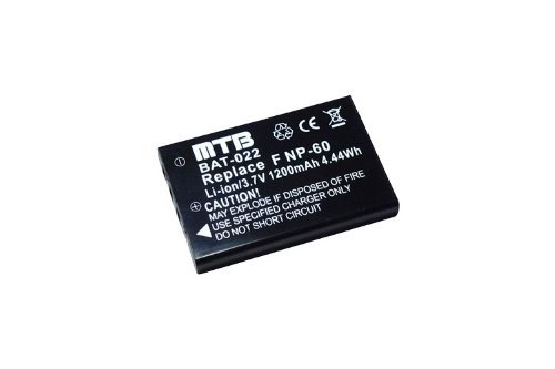 Batteria PDR-BT3 per Toshiba Camileo H10, H20, HD, P10, (Memoria Dx6490 Kodak)