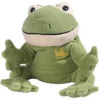 Warmies Wärmestofftier Frosch, 1 St. Wärmestofftier