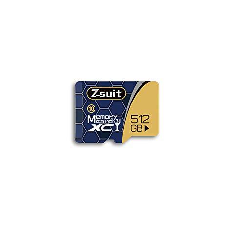 Preisvergleich Produktbild IOIOA Speicherkarte,  512 GB Extreme Microsdxc UHS-I-Speicherkarte mit Adapter - C10,  U3,  V30,  4K,  A2,  Micro SD - Für Tablet / Smartphone / Driving Recorder - 512 GB, 5pack