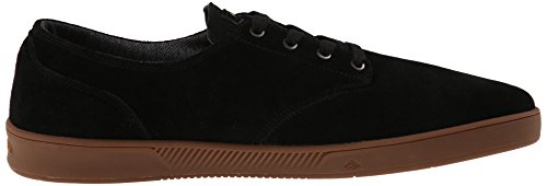 Emerica The Romero Laced, Chaussures de skateboard homme Black