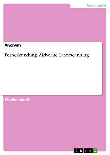 Fernerkundung: Airborne Laserscanning